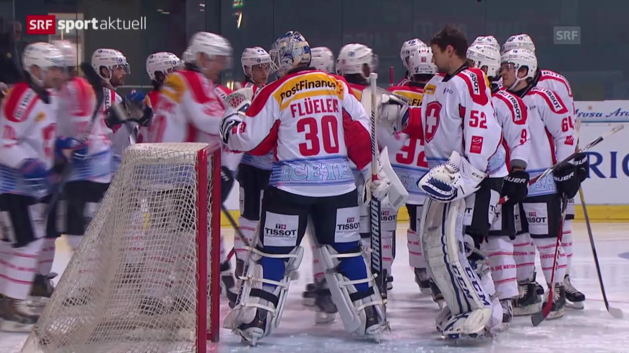 Eishockey: Zusammenfassung Schweiz-Weissrussland
