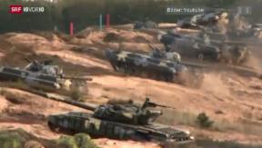 Video «Nato lässt die Muskeln spielen» abspielen