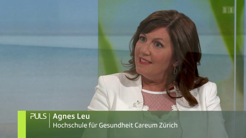 Studiogespräch mit Agnes Leu, Forschungsprogramm «Young Carers»