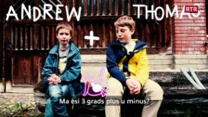 Laschar ir video «Andrew e Thomas»