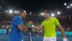 Video «ATP-1000-Madrid: Highlights Federer - Raonic» abspielen