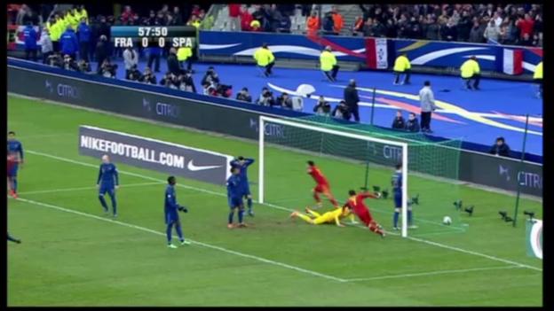 Video «WM-Qualifikation: Frankreich - Spanien» abspielen