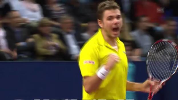 Video «Vorschau: Wawrinka gegen Djokovic» abspielen