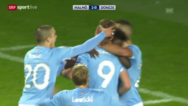 Video «Fussball: CL, Malmö FF - Schachtar Donezk» abspielen