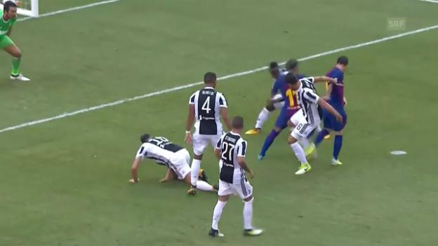 Video «Traumtor: Neymar dribbelt sich durch die gesamte Juve-Abwehr» abspielen