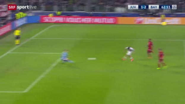 Video «Dybala erzielt den Anschlusstreffer für Juve» abspielen