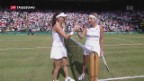Video «Bacsinszky in Wimbledon out» abspielen