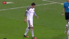 Video «Fussball: Fabian Schär mit Bänderriss» abspielen
