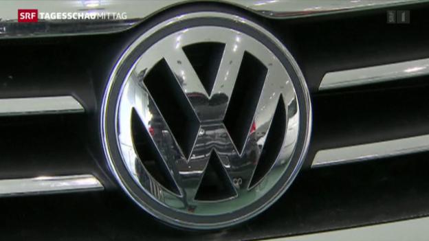 Video «Diesel-Debakel: VW am Pranger» abspielen