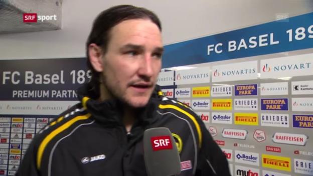 Video «Fussball: Interview mit Alain Nef» abspielen