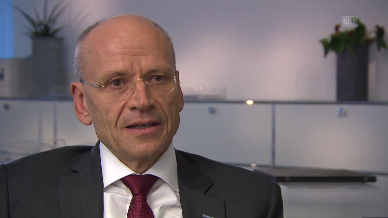 Karl Hofstetter zur Unternehmensstiftung