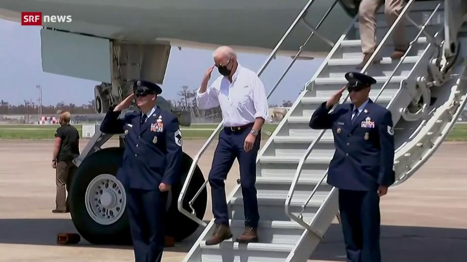 Biden besucht das Katastrophengebiet im Süden der USA