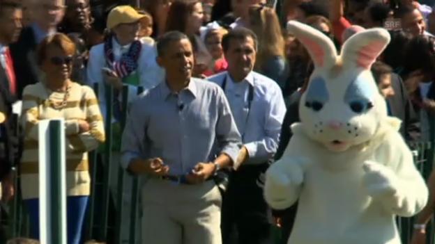 Video «Osterfest mit Barack Obama» abspielen