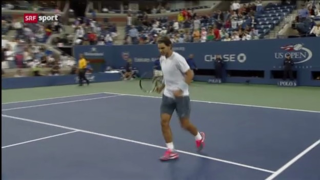 Video «Vor dem US-Open-Final Nadal - Djokovic» abspielen