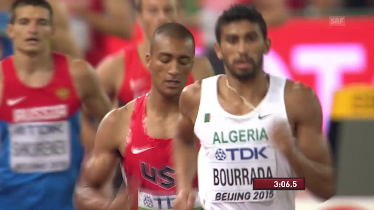 Leichtathletik: WM in Peking, Zehnkampf Entscheidung, Weltrekord Eaton