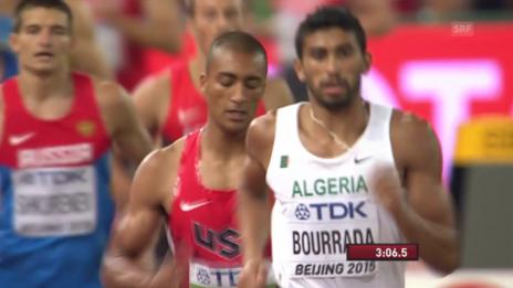 Video «Leichtathletik: WM in Peking, Zehnkampf Entscheidung, Weltrekord Eaton» abspielen