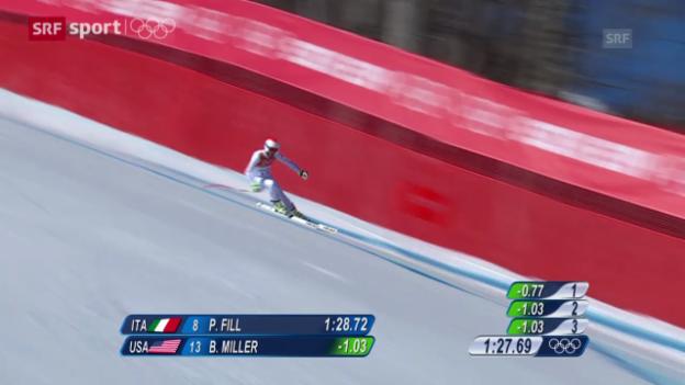 Video «Ski alpin: Vorschau Abfahrt Männer («sotschi aktuell», 8.2.2014)» abspielen