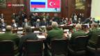 Video «Russland und die Türkei stimmen ihre Interessen in Syrien ab» abspielen