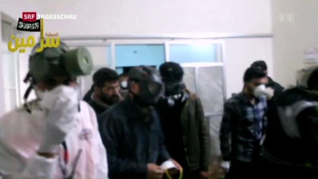 Video «UNO: Einsatz von Chemiewaffen in Syrien» abspielen