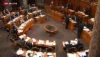 Video «Zunehmend Drohungen gegen Politiker und Ämter» abspielen