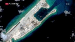 Video «Verhärtete Situation im südchinesischen Inselstreit» abspielen