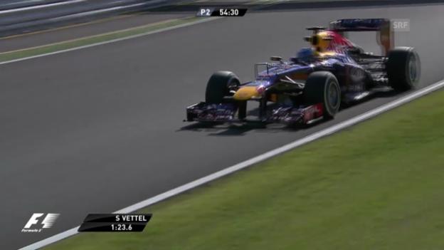 Video «Formel 1: Sebastian Vettels Bestzeit in Suzuka (unkommentiert)» abspielen