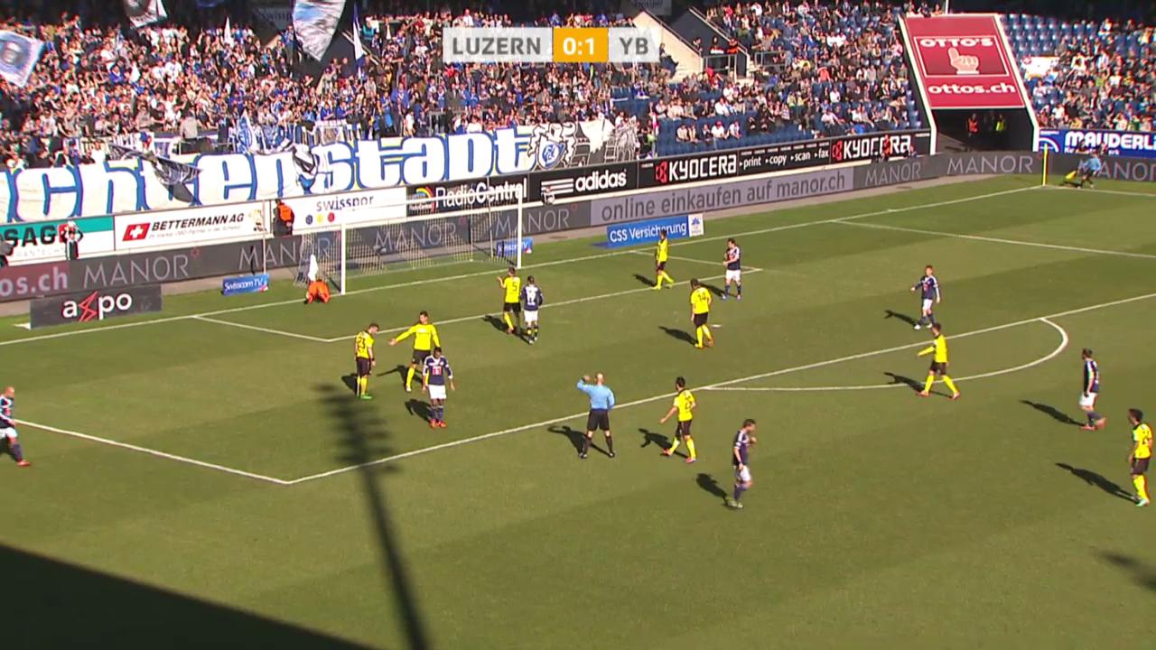 Fussball: Super League, Luzern - YB («sportlive», 23.02.2014)