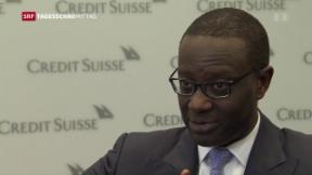 Video «Erneut rote Zahlen für die Credit Suisse» abspielen