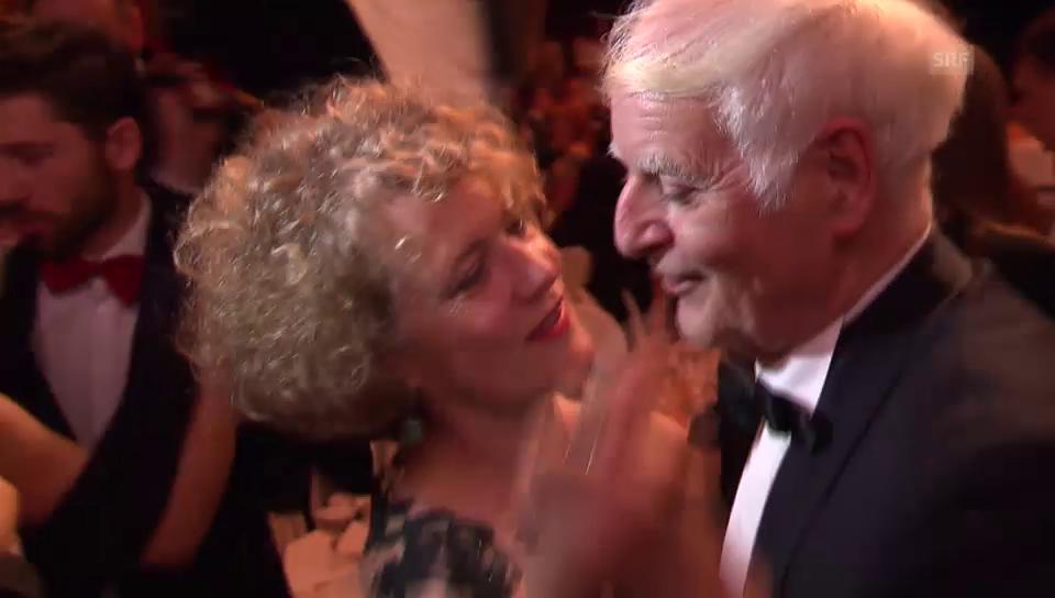 Adolf Muschg und Corine Mauch: Das neue Tanz-Traumpaar