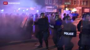 Video «Baltimore feuert Polizeichef nach Rassenunruhen » abspielen