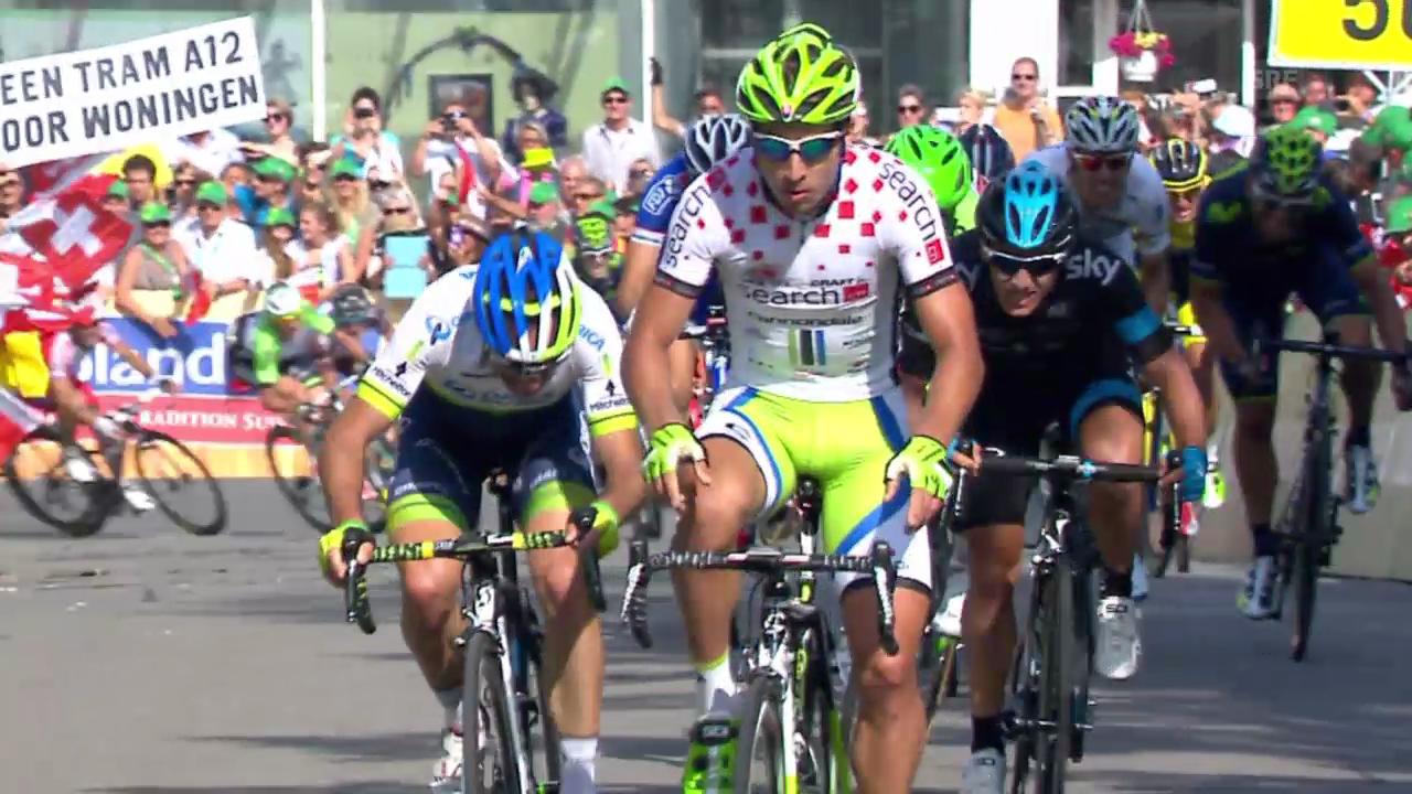 Rad: Tour de Suisse, Schlussphase 3. Etappe
