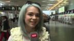 Video «Rykka: Die ESC-Kandidatin macht einen Abflug nach Stockholm» abspielen