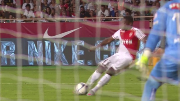 Video «Fussball: CL-Quali, Monaco - YB 1:0» abspielen