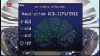 Video «EU-Parlament will Türkei-Beitrittsverhandlungen aussetzen» abspielen