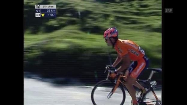 Video «Aitor Gonzalez gewinnt die Tour de Suisse 2005» abspielen