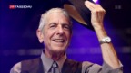Video «Leonard Cohen gestorben» abspielen