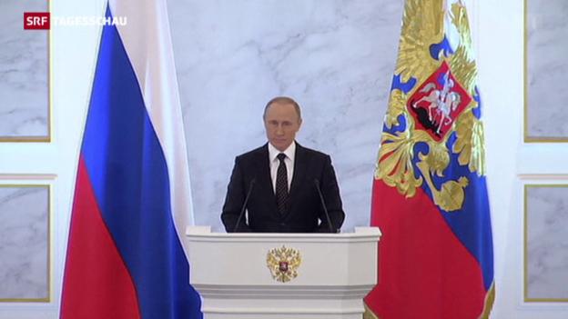 Video «Putins Rede zur Lage der Nation» abspielen