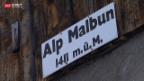 Video «Kauffrau und Hochschul-Dozent auf der Alp» abspielen