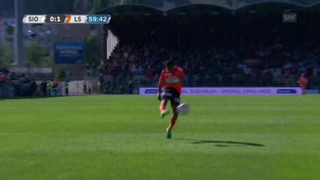 Video «Torres' herrlicher Volleytreffer» abspielen