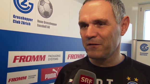 Video «Fussball: Interview mit Pierluigi Tami» abspielen