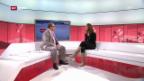 Video «Tina Maze im Gespräch, Teil 2» abspielen