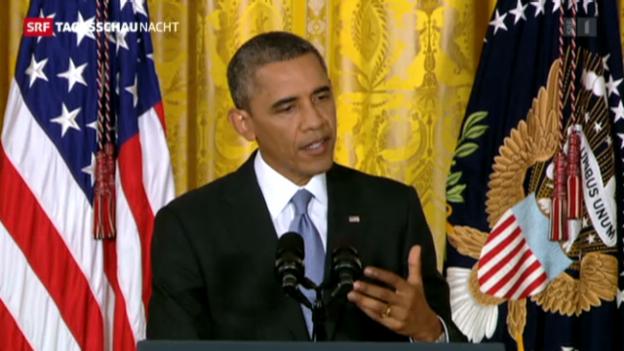 Video «Obama und die Geheimdienste» abspielen