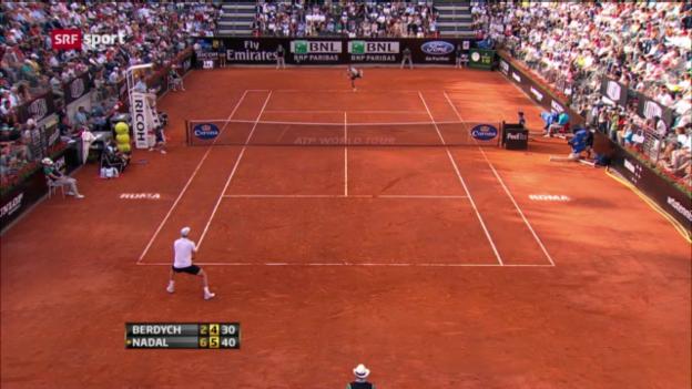 Video «Rafael Nadal im Rom-Final («sportaktuell»)» abspielen