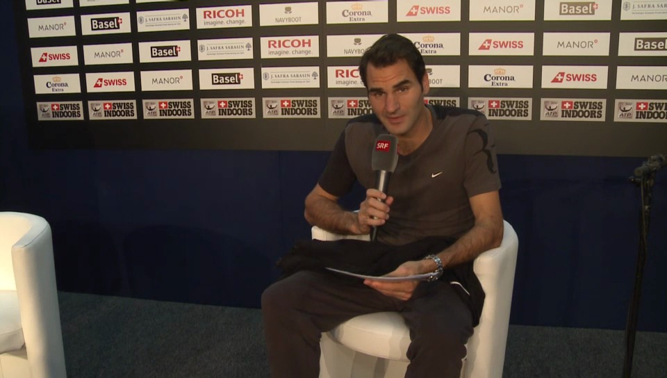 Federer beantwortet Frage von Fadrina02