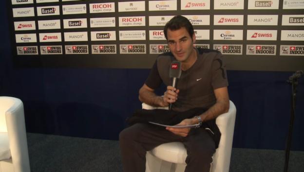 Video «Federer beantwortet Frage von Fadrina02» abspielen