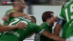 Video «Fussball: Rückblick auf St. Gallen - Basel» abspielen