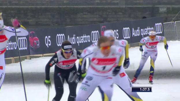 Laschar ir video «Van der Graaff knapp geschlagen»