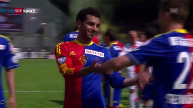 Video «SL: Spielbericht Sion - Basel» abspielen