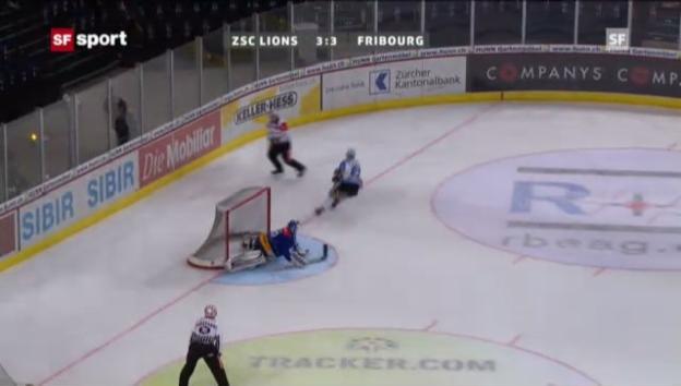 Video «NLA: ZSC - Fribourg» abspielen