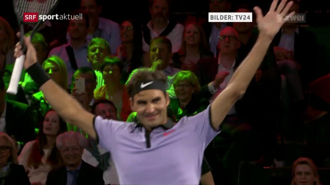Federer gewinnt Match for Africa 3
